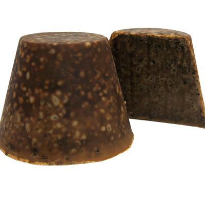 savon local noir cone-140g-lasavonnerieantillaise