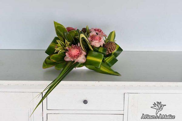 Composition florale marquise