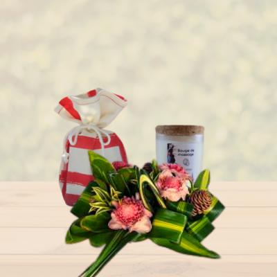 Pack composition florale